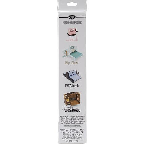 "Sizzix Decorative 13"" Strip Cutting Pad - 1 Pair"