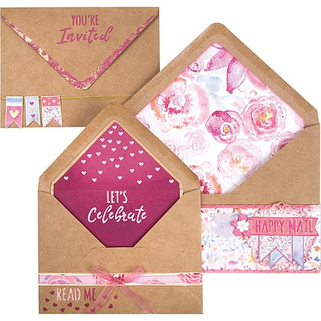 Sizzix Framelits Dies By Katelyn Lizardi - Envelope Liners, A2 and A7