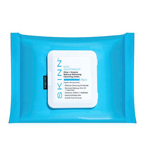 Skinn® Cosmetics Olive & Enzyme Cleansing Cloths