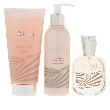 exclusive! Skinn Cosmetics OPA! 3-piece Bath and Body Set