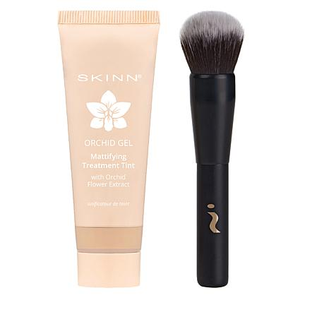 Skinn® Cosmetics Orchid Gel Mattifying Tint with Brush