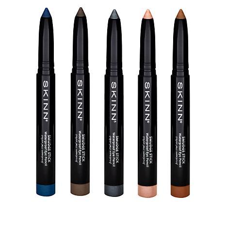 Skinn® Cosmetics Smudge Stick Waterproof Eye Pencil 5-piece Set