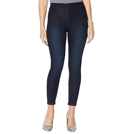 Skinnygirl Bailey High-Rise Seamless Denim Legging