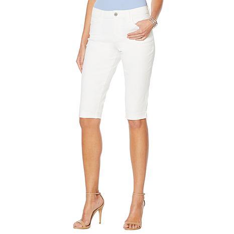 Skinnygirl Mid-Rise Cuffed Skimmer Short
