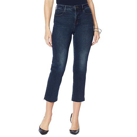 Skinnygirl Warren High-Rise Straight Ankle Jean
