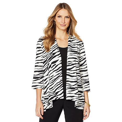 Slinky® Brand Bell-Sleeve Knit Jacket