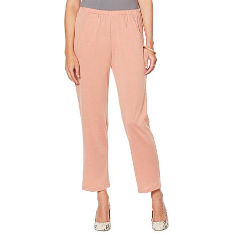 Slinky® Brand French Terry Tapered Pant with Pockets