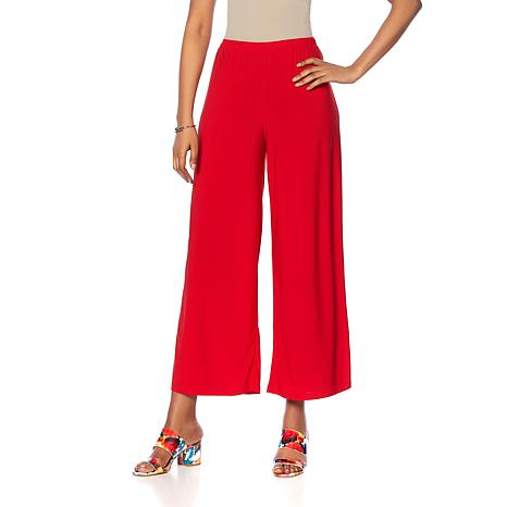 Slinky® Brand Solid Knit Palazzo Pant