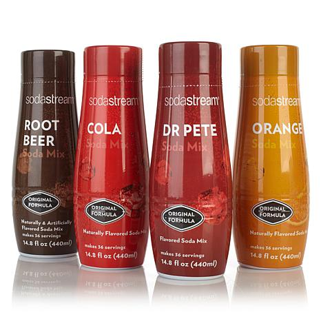 SodaStream Classic Sparkling Drink Mix 4-pack