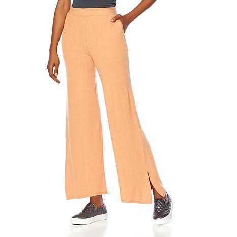 Soft & Cozy Brushed Hacci Knit Pant with Pockets