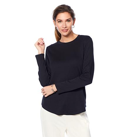 Soft & Cozy Long-Sleeve Basic Tee