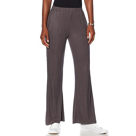 Soft & Cozy Loungewear Cool Luxe Knit Ribbed Pant