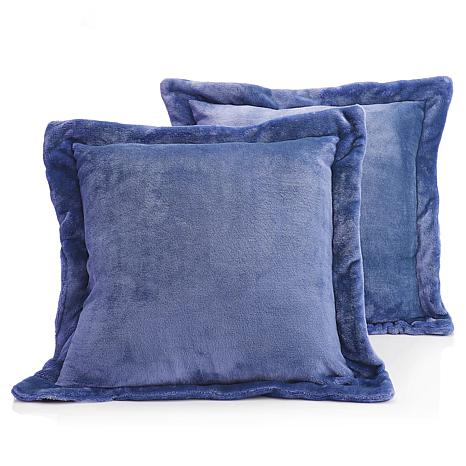 soft decorative pillows. Soft Cozy Plush Decorative Pillow PairSoft  Pair 8464741 HSN Pillows Cream 20x20 Throw PillowSoft