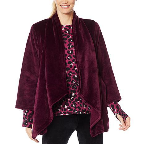 Soft & Cozy Plush Lounging Cardigan