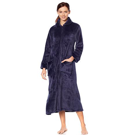 Soft & Cozy Super Soft Zip-Front Robe
