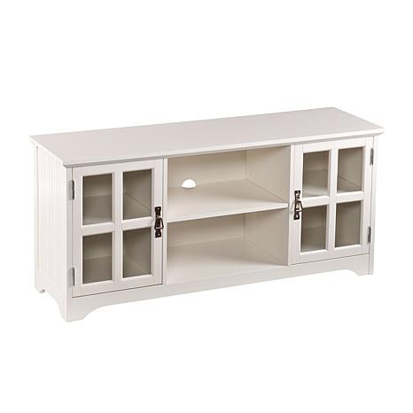 Southern Enterprises Brentwick TV/Media Stand - White
