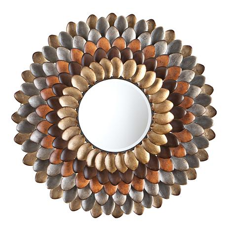 Southern Enterprises Millie Round Decorative Mirror
