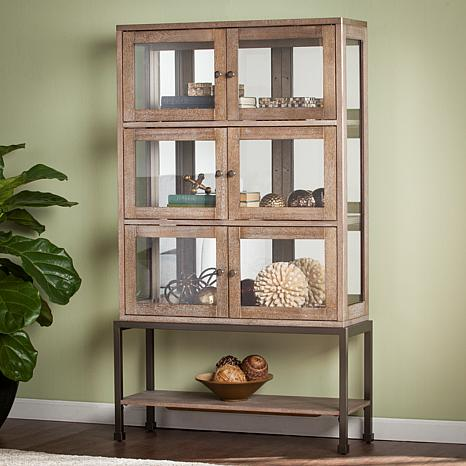 Southern Enterprises Stilson Lighted Contemporary Curio