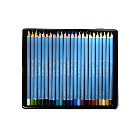 Spectrum Noir AquaBlend Watercolor Pencils 24-pack - Naturals