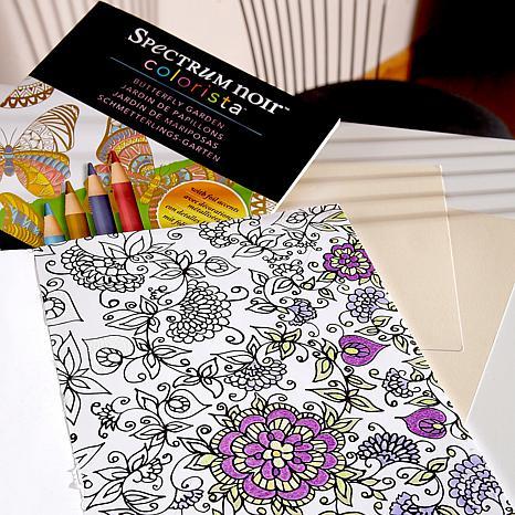 Spectrum Noir Variety Marker Bundle with USB & Coloring Books ...