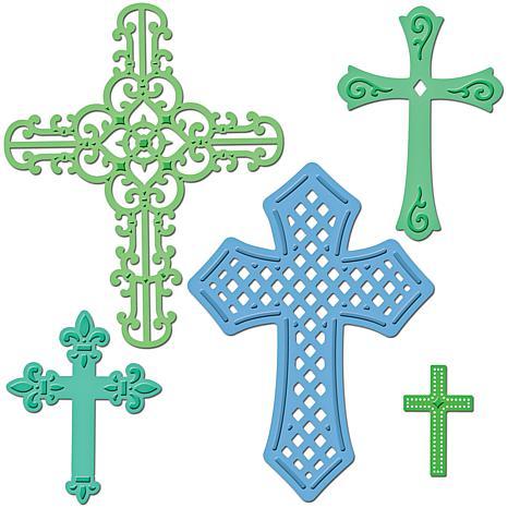 Spellbinders Shapeabilities Dies - Crosses 2