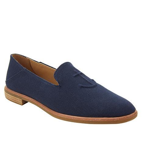 Sperry Seaport Levy Canvas Slip-On Flat