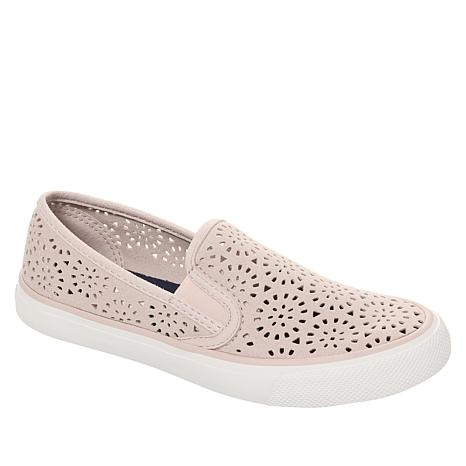 baf622fc5282 Sperry Seaside Perforated Leather Slip-On Sneaker - 8910586