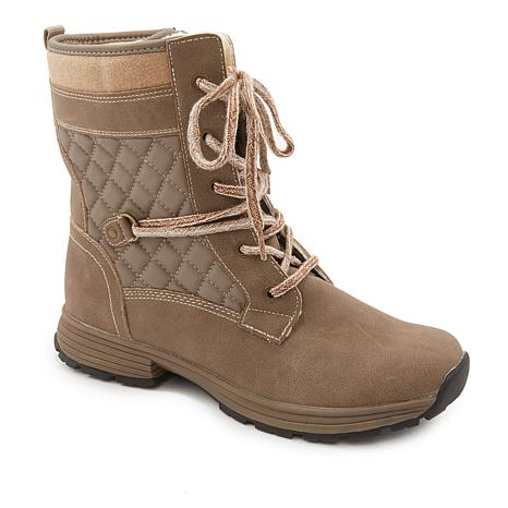 Sporto® Carly Water-Resistant Combat Boot