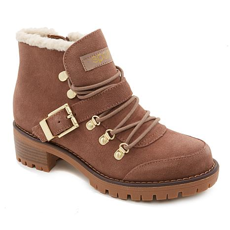 66f4fb65ce4 Sporto® Katie Waterproof Suede Lace-Up Boot - 8806769