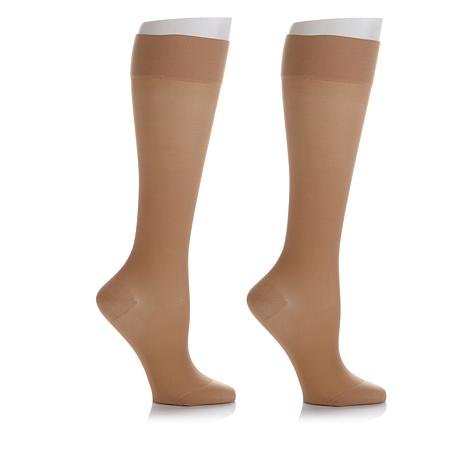 SPRESSO Special-Blend Graduated Compression Knee-High Stocking 2-pack