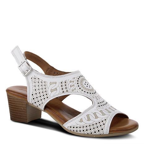 Spring Step Chains T-Strap Sandal