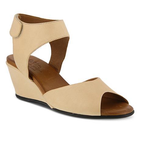 Spring Step Marjory Leather Ankle Strap Sandal