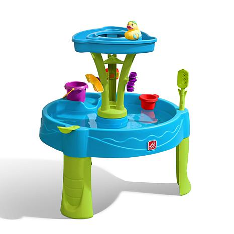 step 2 Summer Showers Splash Tower Water Table