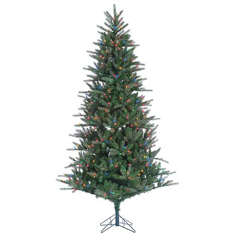 Sterling 7-1/2' Multicolor Lighted Franklin Spruce Tree