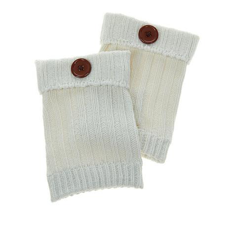 Steve Madden Button Knit Boot Cuff