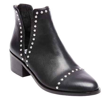 eaec37ae2a8 Steve Madden Conspire Studded Leather Cutout Bootie - 1846607