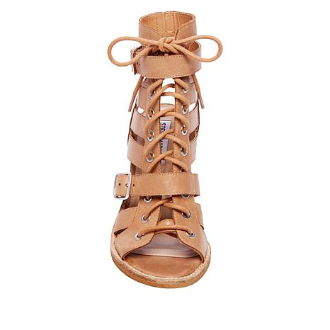 e5263413469 Steve Madden Suede/Leather Cut-Out Cecilia Sandal - 8947809 | HSN