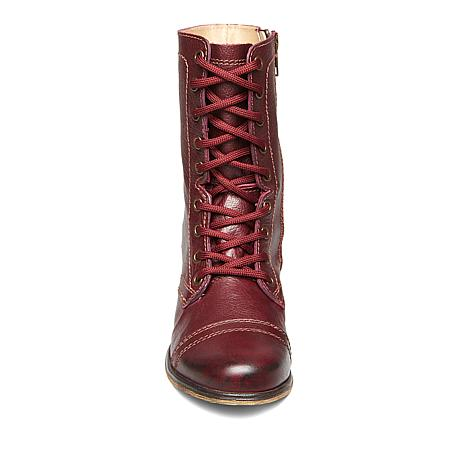 0a65572b656 Steve Madden Troopa Leather Combat Boot - 8810204