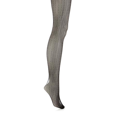 Steven by Steve Madden Fishnet Dot Tights
