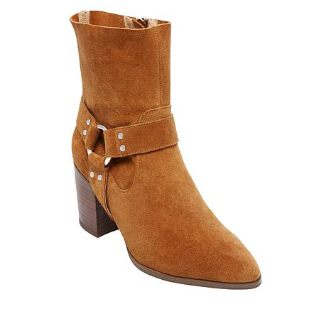 Steven by Steve Madden Jiffie Leather or Suede Riding Boot