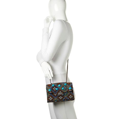 373deb8dffb Steven by Steve Madden Sue Flap Bag with Chain Strap - 8635782 | HSN
