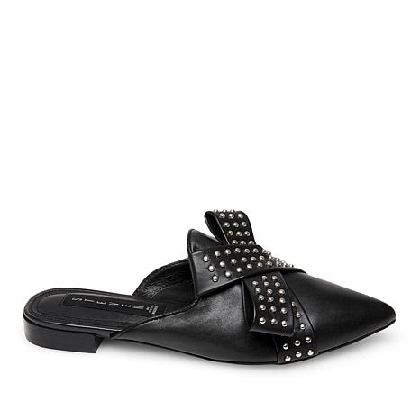 Steven by Steve Madden Vander Leather Mule with Studs