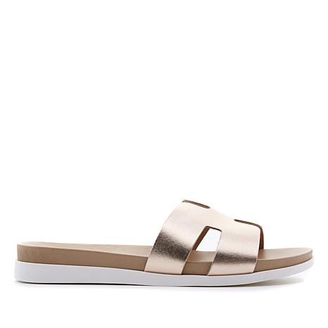 Steven Natural Comfort Dana Leather Slide Sandal