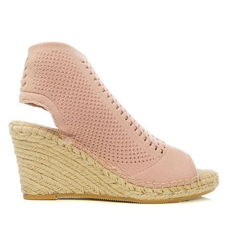 Steven Natural Comfort Loca Fabric Wedge Espadrille