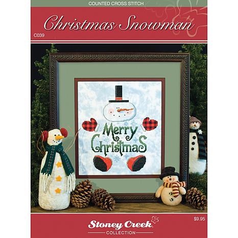 Stoney Creek Chart Pack - Christmas Snowman