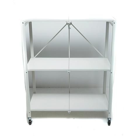 StoreSmith 3-Tier Folding Storage Rack
