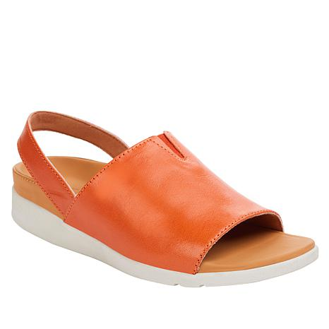 Strive Mara Leather Orthotic Slingback Sandal