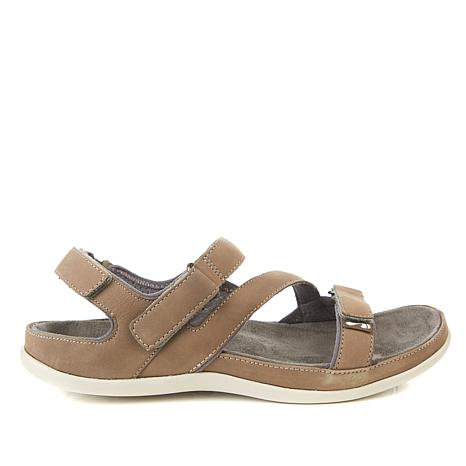 Strive Montana Leather Orthotic Walking Sandal