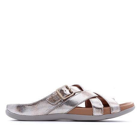 Strive Montauk Toe-Loop Leather Orthotic Sport Sandal