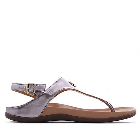 Strive Tropez Leather Toe-Post Orthotic Sandal